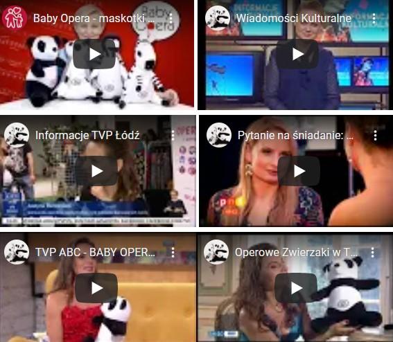 Baby Opera w mediach